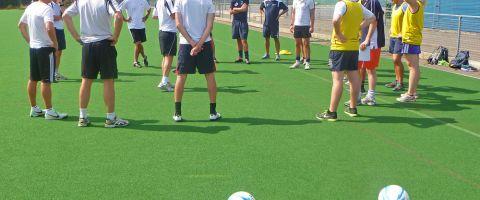 Coaching Soccer in Schools