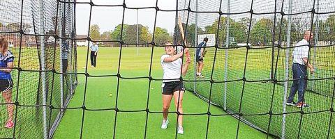 Introducing Coaching & Cricket to Girls