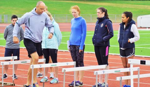 School Athletics Masterclass with Dean Macey