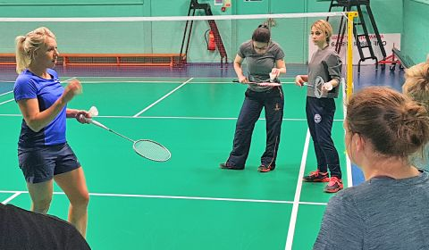 Dynamic Badminton Coaching and Teaching with Gail Emms MBE