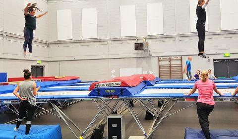 British Gymnastics Teachers' Award for Trampolining: Level One