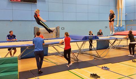 British Gymnastics Teachers' Award for Trampolining: Level Two