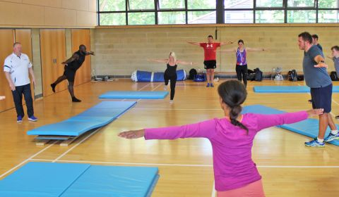 British Gymnastics Courses for Teachers: Intermediate Level (Skills for Secondary Schools)