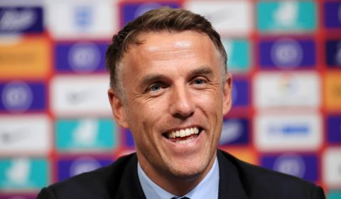 Online Soccer Coaching Masterclass with Phil Neville