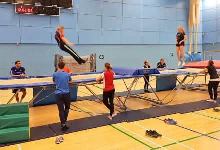 British Gymnastics Teachers' Award for Trampolining: Level Two