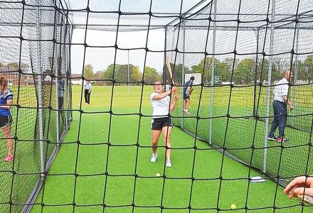 Introducing Coaching & Cricket to Girls