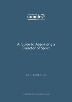 Guide to Appointing a Director of Sport cover